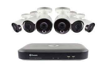 Swann 8 Channel 5MP Super HD DVR with 6 x Camera Security System (SWDVK-849806B)
