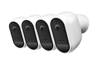 Swann Wire-Free 1080p Security Camera 4 Pack