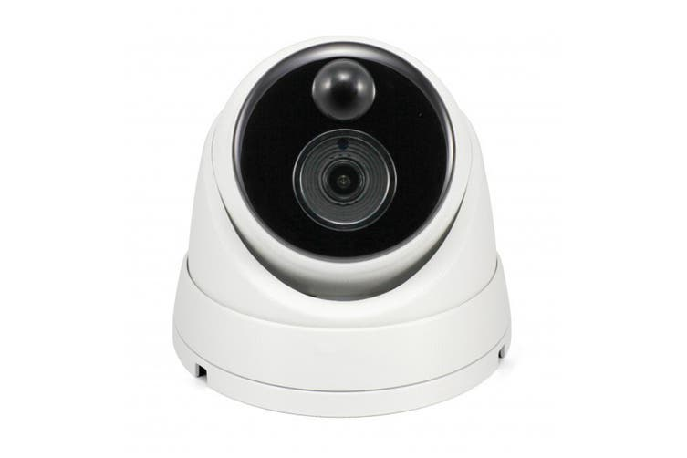 Swann 5MP Super HD IP True Detect Dome Camera w Audio and Thermal Sensing (SWNHD-866MSD)