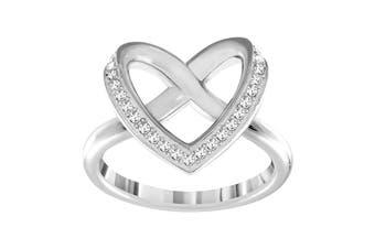 Swarovski Cupidon Rhodium Ring