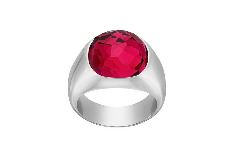 Swarovski Dot Ruby Red Crystal Ring (Size 7)