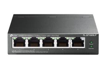 TP-Link 5-Port Desktop Switch with 4-Port PoE (TL-SF1005LP)