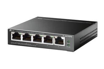 TP-Link 5-Port Gigabit Easy Smart Switch with 4-Port PoE+ (TL-SG105PE)