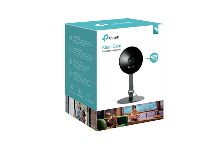 TP-Link 1080P Kasa Cam with Night Vision and Motion Detection (KC120)