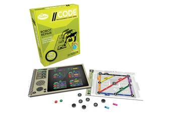 ThinkFun //CODE: Robot Repair Programming Game
