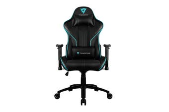 ThunderX3 TX3-RC3-BC HEX RGB Lighting Gaming Chair - Black/Cyan