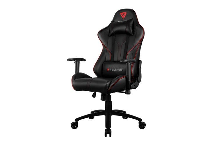ThunderX3 TX3-RC3-BR HEX RGB Lighting Gaming Chair - Black/Red