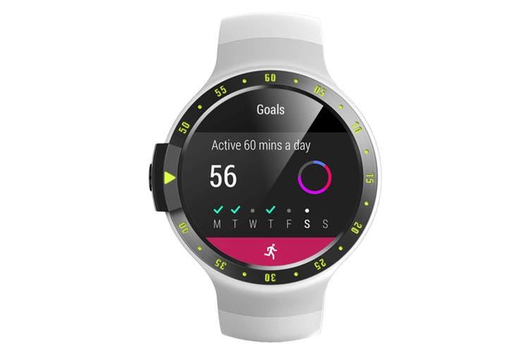TicWatch S Glacier Smart Watch
