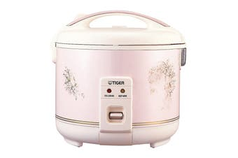 Tiger Electric Rice Cooker 5.5 Cup 1L - Jasmine Pink (JNP-1000)