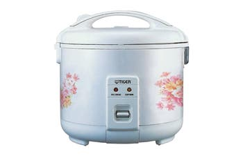 Tiger Electric Rice Cooker 10 Cup 1.8L - White (JNP-1800)