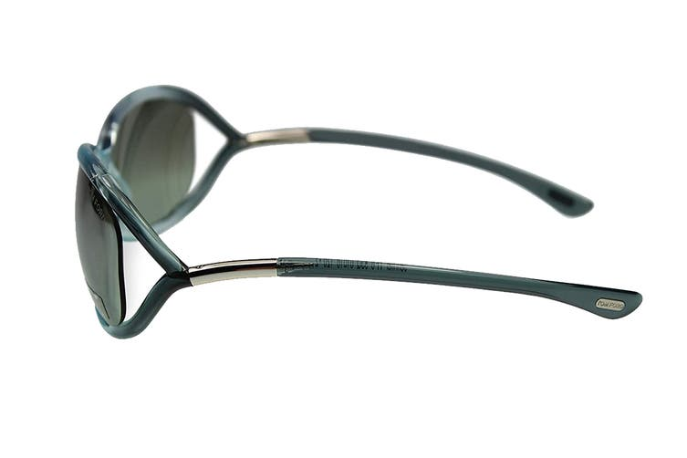Tom Ford FT0008 Sunglasses (Blue, Size 61-16-120) - Gray