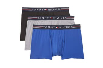 Tommy Hilfiger Men's Stretchpro Trunk Underwear (Cobalt, Size XL) - 3 Pack