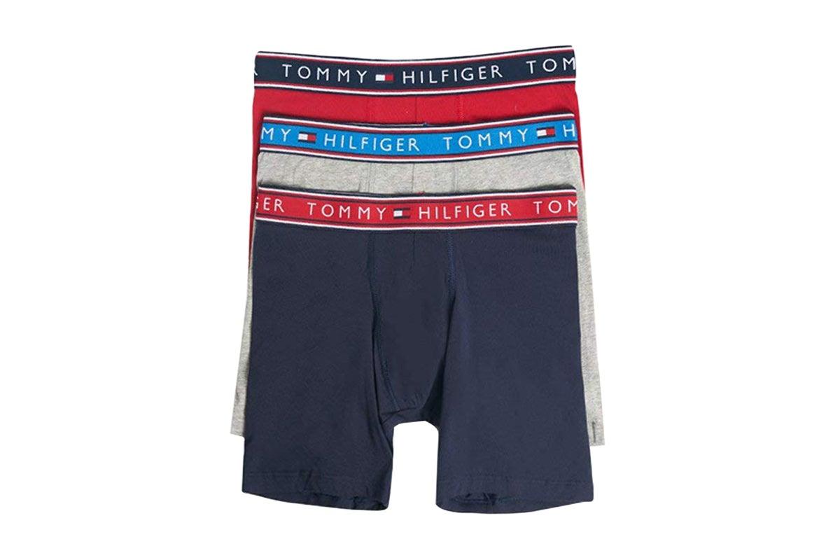 Tommy Hilfiger Trunk Camo Stripe Navy Blazer