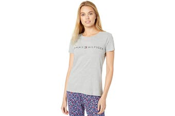 Tommy Hilfiger Women's Retro T-Shirt (Heather Grey, Size S)