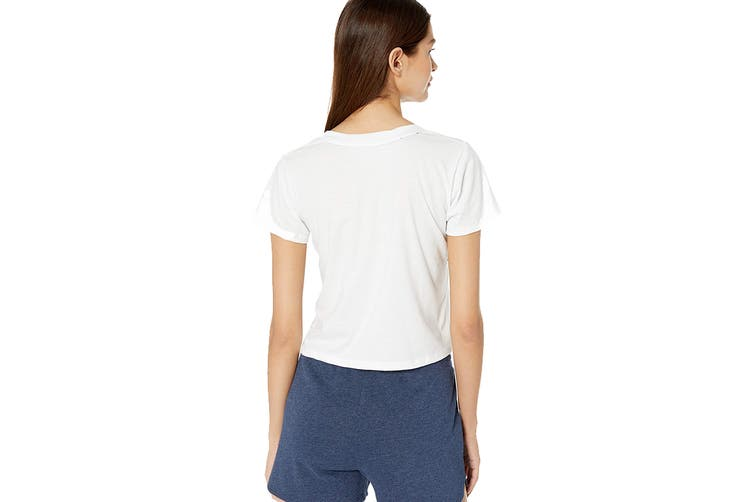 Tommy Hilfiger Women's Tommy Varsity Sleep T-Shirt (Bright White, Size L)