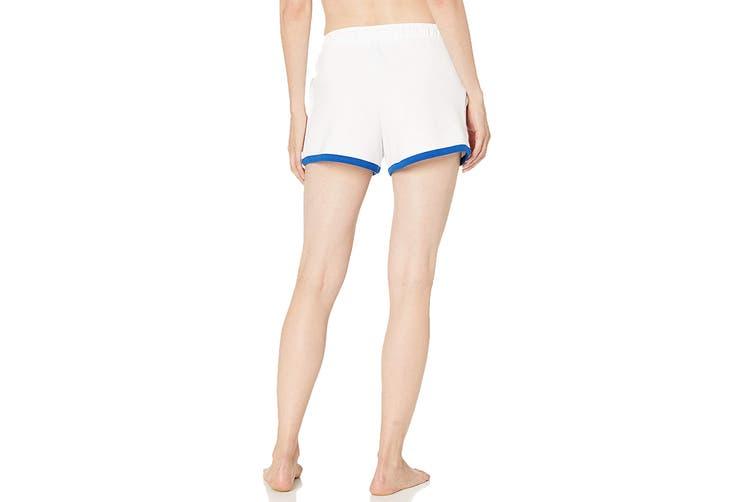 Tommy Hilfiger Women's PJ Short (Bright White, Size L)
