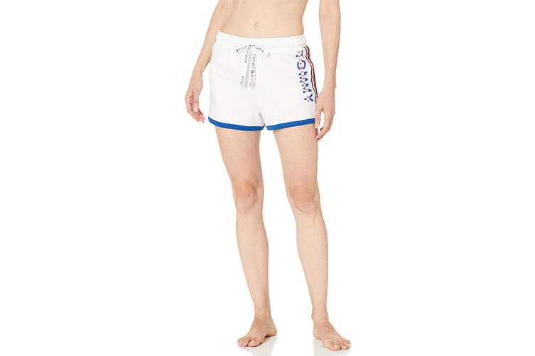 Tommy Hilfiger Women's PJ Short (Bright White, Size S)