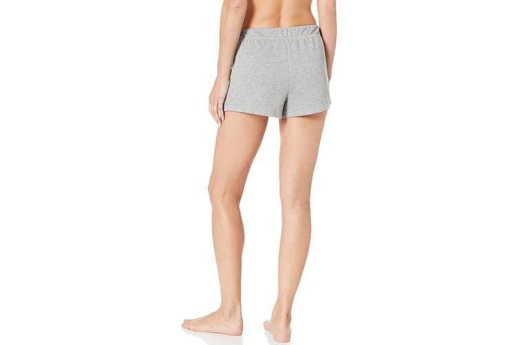 Tommy Hilfiger Women's Varsity Sleep Short (Heather Grey, Size XS)