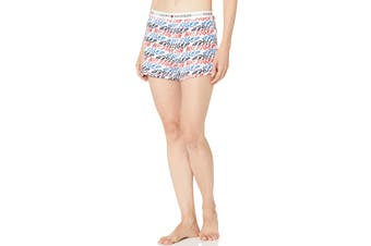 Tommy Hilfiger Women's Short (Logo Graffiti, Size S)