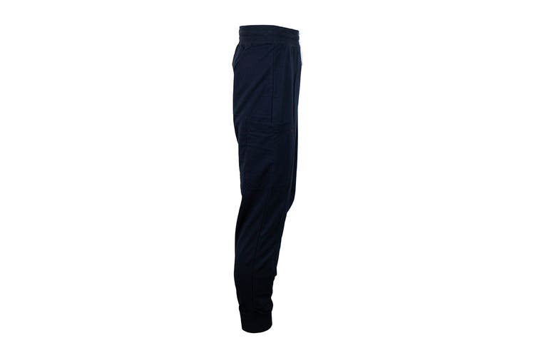 Tommy Hilfiger Men's Modern Essentials Flag Sweatpants (Dark Navy, Size L)