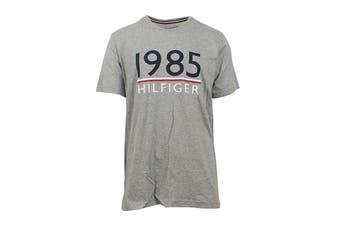 Tommy Hilfiger Men's 1985 Modern Essentials T-Shirt (Grey Heather)