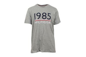 Tommy Hilfiger Men's 1985 Modern Essentials T-Shirt (Grey Heather)