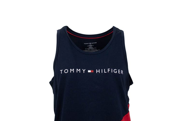 Tommy Hilfiger Men's Modern Essentials Tank Top (Mahogany, Size S)