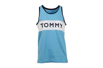 Tommy Hilfiger Men's Modern Tank Top (Blue Topaz)