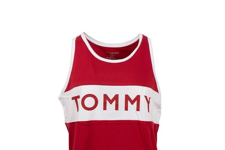 Tommy Hilfiger Men's Modern Tank Top (Mahogany, Size M)
