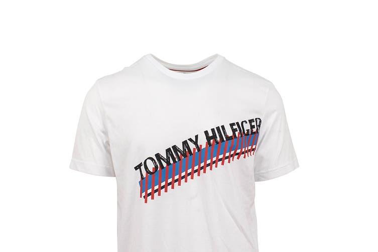 Tommy Hilfiger Men's Modern Essentials T-Shirt (White, Size S)