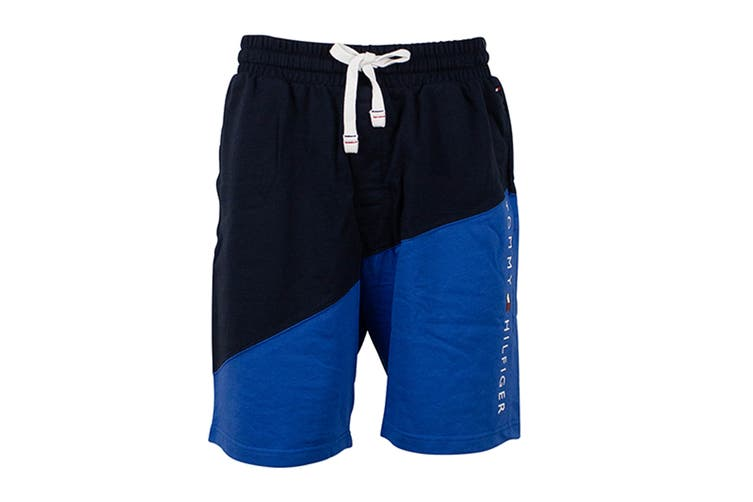 Tommy Hilfiger Men's Modern Essentials Shorts (Hampton Blue, Size XL)