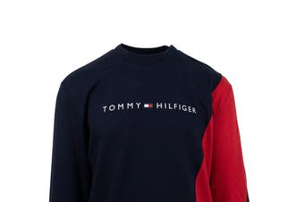 Tommy Hilfiger Men's Modern Essentials Pullover (Mahogany)