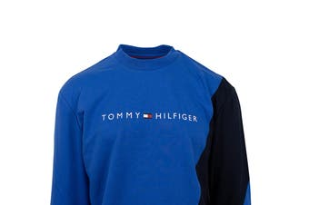 Tommy Hilfiger Men's Modern Essentials Pullover (Hampton Blue)