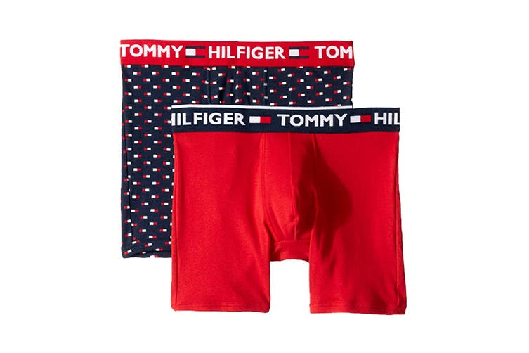 Tommy Hilfiger Men's Boxers - 2 Pack Underwear (Night Blue, Size S)