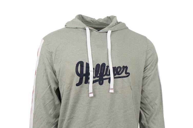 Tommy Hilfiger Men's Modern Essentials Hoodie (Grey Heather, Size S)
