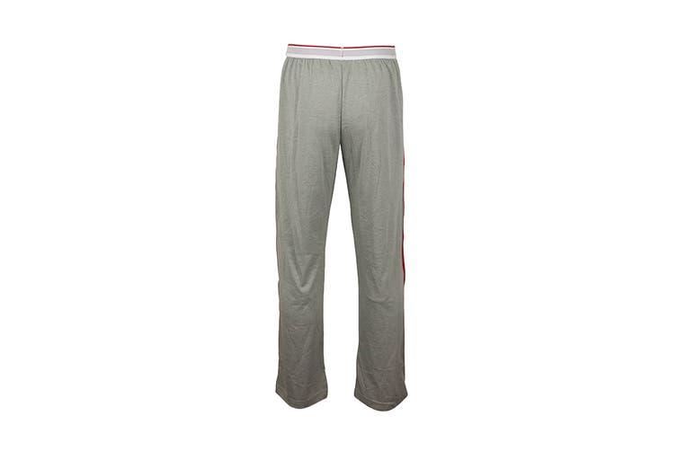 Tommy Hilfiger Men's Modern Essentials 85 Sweatpants With Logo Band (Grey Heather, Size L)