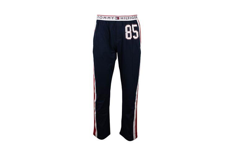 Tommy Hilfiger Men's Modern Essentials 85 Sweatpants With Logo Band (Dark Navy, Size S)
