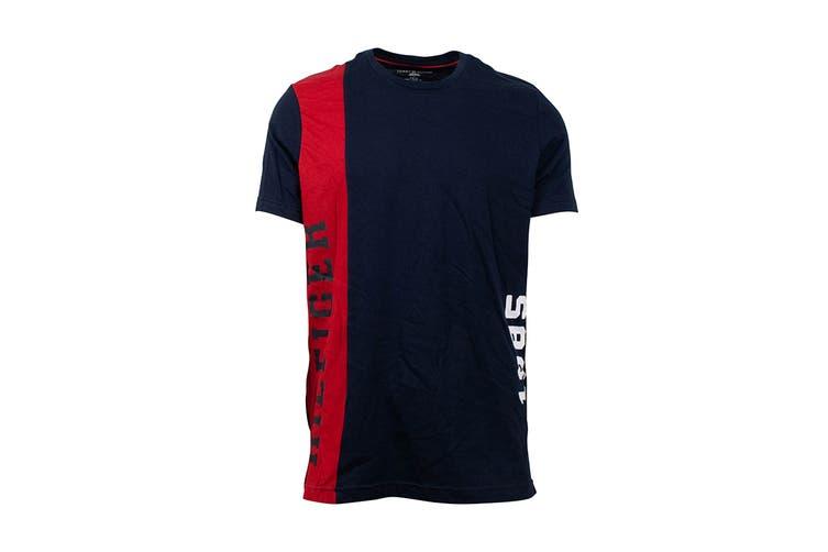 Tommy Hilfiger Men's Modern Essentials 1985 T-Shirt (Dark Navy, Size S)