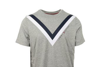 Tommy Hilfiger Men's Modern Essentials T-Shirt (Grey Heather)