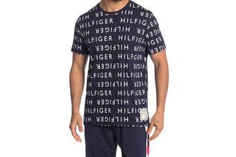 Tommy Hilfiger Men's Modern Essentials Tee (Deep Blue, Size XL)