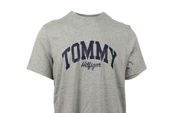 Tommy Hilfiger Men's Graphic Sleepwear Tee (Grey Heather)