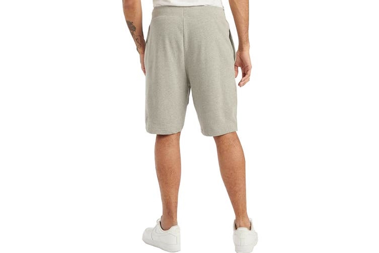 Tommy Hilfiger Men's Op French Terry Sleep Short (Grey Heather, Size S)