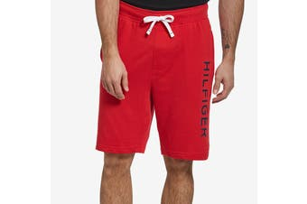 Tommy Hilfiger Men's Op French Terry Sleep Short (Mahogany)