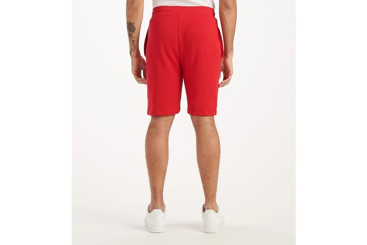 Tommy Hilfiger Men's Op French Terry Sleep Short (Mahogany, Size S)