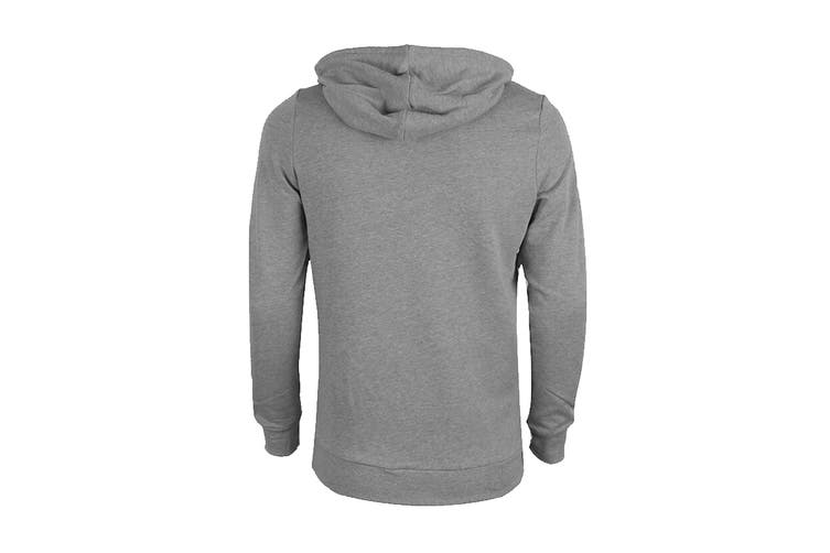 Tommy Hilfiger Men's Op French Terry Long Sleeve Hoodie (Grey Heather, Size M)