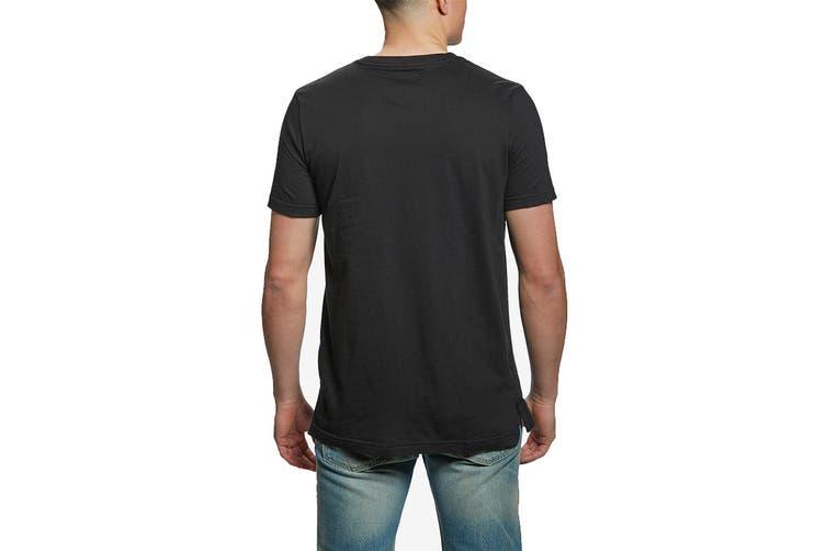 Tommy Hilfiger Men's Modern Essentials Crew Tee (Black, Size S)