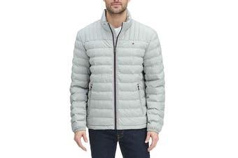 Tommy Hilfiger Men's Ultra Loft Packable Down Jacket (Stone)