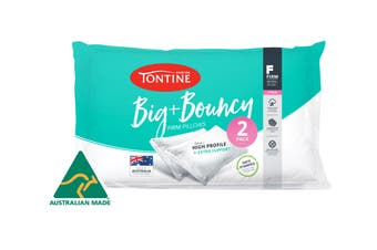 Tontine Big and Bouncy High Pillow - 2pk (Firm)