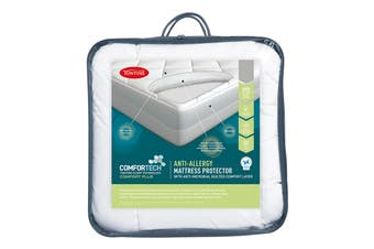 Tontine Comfortech Anti Allergy Mattress Protector (Single)