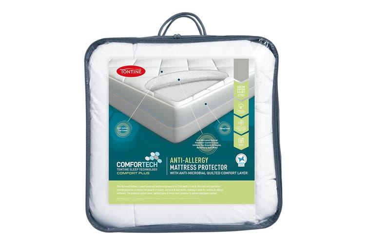 Tontine Comfortech Anti Allergy Mattress Protector (Single)